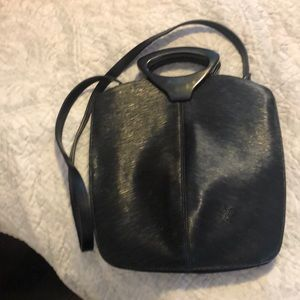 Black barely worn cross body bag